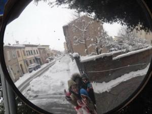 Neve a Ravenna