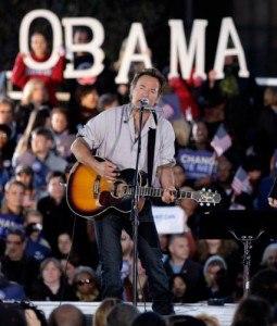 Springsteen per Obama