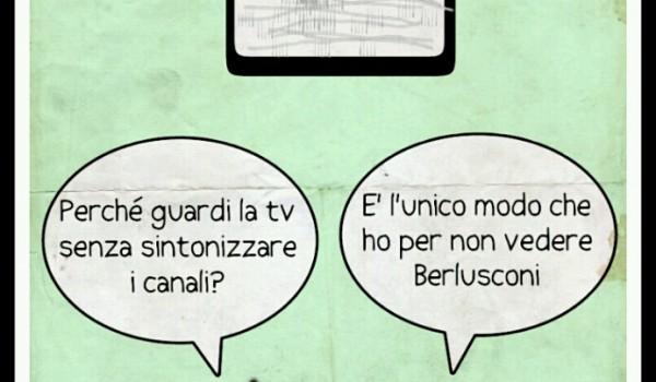 Berlusconi sempre in TV