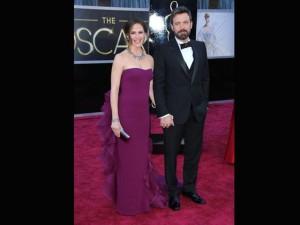 Ben Affleck con la moglie Jennifer Garner entrambi in Gucci