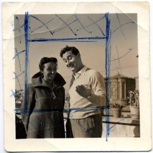 Isabella e Alberto Sordi