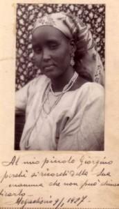 Ashkiro Assan madre di Isabella e Giorgio Marincola