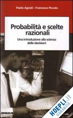 probabilità e scelte razionali