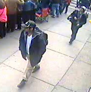 Tamerlan (left) and Dzhokhar Tsarnaev on Boston Marathon Camera