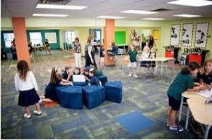 Aule comuni in scuola inglese
