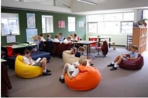 Sala lettura di una scuola primaria inglese