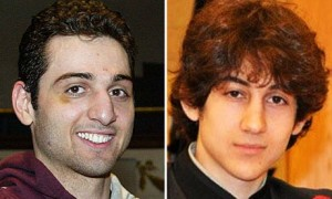 Tamerlan (left) and Dzhokhar Tsarnaev.