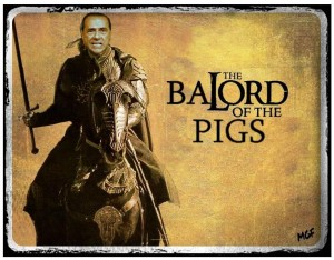 balord of the pigs