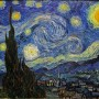 Vincent van Gogh La notte stellata - Saint-Rémy : Giugno, 1889 Olio su tela - 73.7 x 92.1 cm New York - Museum of Modern Art (MoMA)