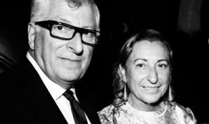 Patrizio Bertelli e Miuccia Prada.