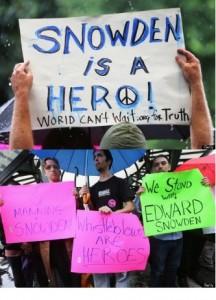 In supporto di Snowden - New York 10 giugno 2013