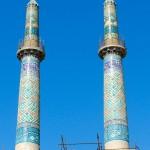 Minareti della moschea di Yazd