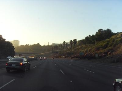 Santa Monica Highway at Sunset
