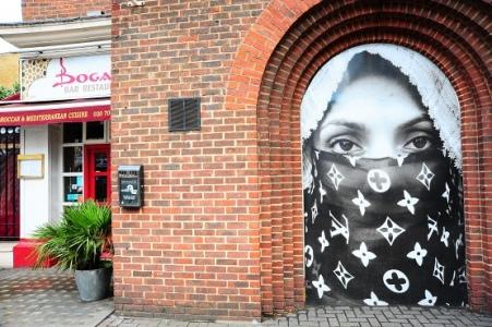 Niqab Vuitton