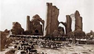 La Moschea dopo il terremoto del 1897 - da un articolo di Elena Paskaleva