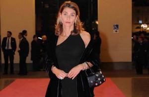 Meredith Gray? No, Giulia Ligresti, con una borsa Gilli, la sua collezione moda.