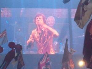 Mick of the Rolling Stones