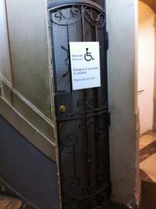 L'ascensore d'epoca