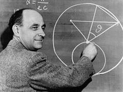 Enrico Fermi, nato il 29 settembre 1901 e morto il 29 novembre 1954. Uno dei padri della fisica nucleare.