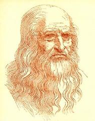 Leonardo da Vinci, pittore, ingegnere, scienziato e talento universale del rinascimento. Nato il 15 aprile 1452 e morto il 2 maggio 1519.