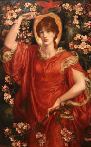 """""""Visione di Fiammetta"""" di Dante Gabriel Rossetti, 1878"""