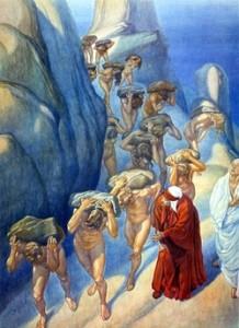 A. Nattini, Dante e i Superbi.