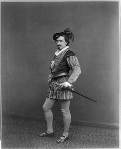 Edwin Booth as Iago 1860