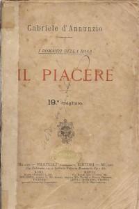 Gabriele D'Annunzio, Il piacere.
