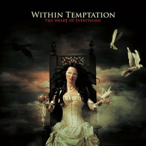 """Copertina dell'album """"The heart of everything"""" del gruppo Within Temptation"""
