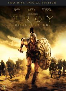"""Copertina della versione DVD del film""""Troy"""""""