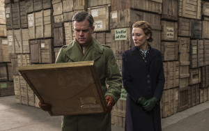 Cate Blanchett e Matt Damon