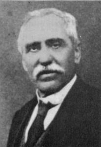 Il segretario socialista dal 1912 al 1919, Costantino Lazzari.