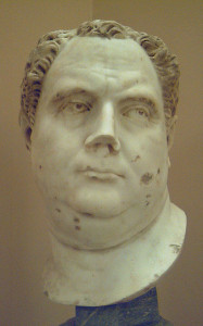 Busto dell'imperatore Vitellio