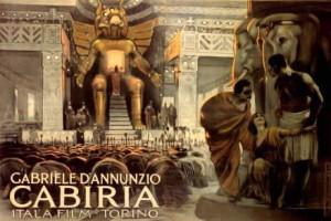 Di D'Annunzio c'è poco in questo incredibile kolossal.