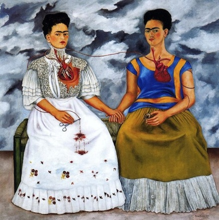 Frida Kahlo - Le due Frida