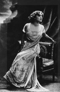 Lyda Borelli. Al cinema dal 1913 al 1918, lasciò un segno nell'immaginazione.