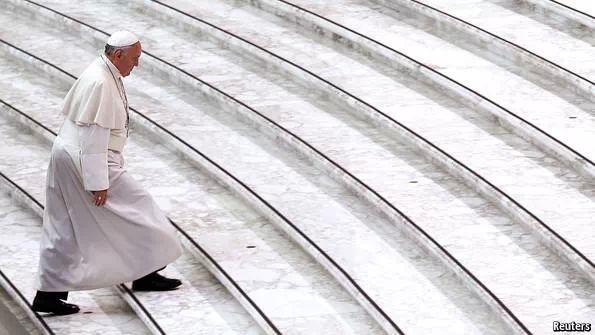 papa Francesco bianco