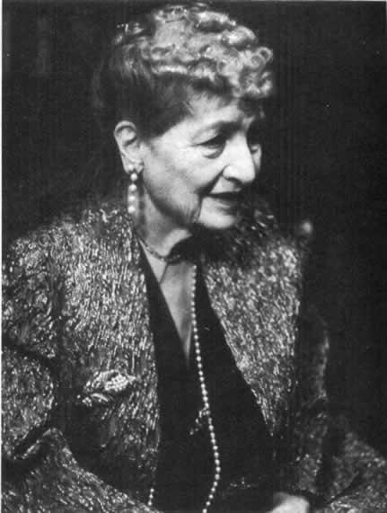 Alma Mahler-Werfel, 1960.