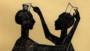 Guardarsi nei libri.