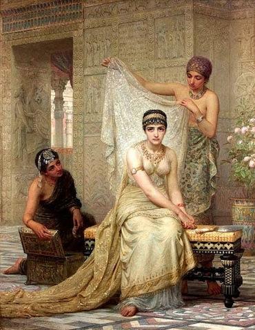 La regina Ester, Long.