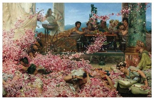 Le rose di Eliogabalo, Alma - Tadema.