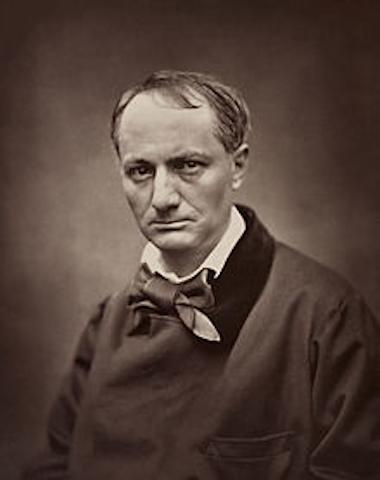 Ritratto di Charles Baudelaire di Étienne Carjat, 1862 circa.
