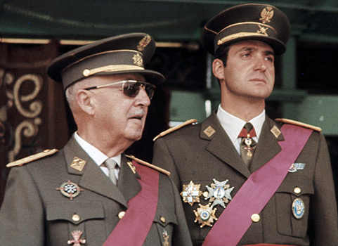 Franco e Juan Carlos