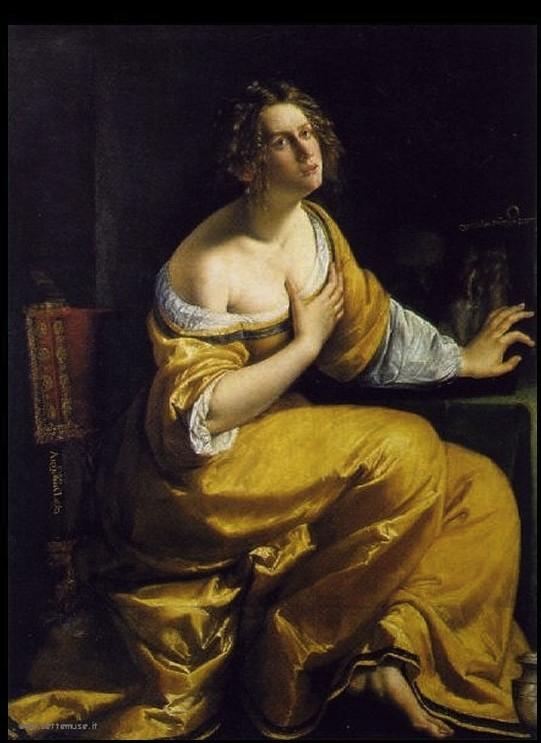Artemisia Gentileschi Maria Maddalena 1613