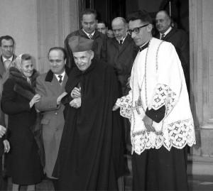 Il cardinale Della Costa. Antifascista, nel 1938 rifiutò di incontrare Hitler a Firenze.