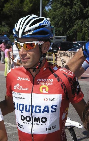 Vincenzo Nibali. Vuelta a España 2010
