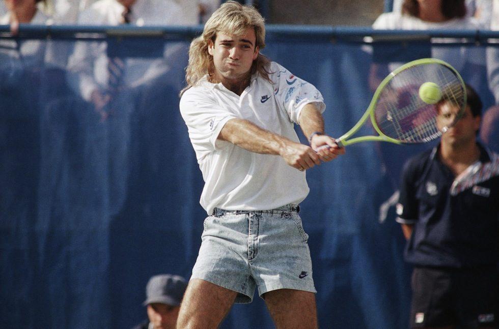 Agassi? Un taglio di capelli e un dritto-cit. Ivan Lendl.