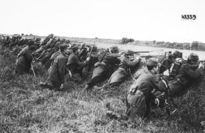 Per difendere la Francia! Nessuno avrebbe scommesso una cicca sui soldati francesi nel settembre 1914.