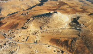 L'Erodion, il palazzo-fortezza che Erode fece costruire in cima a una collina vicino a Gerusalemme