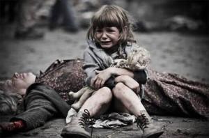Il vero volto della guerra in Ucraina.